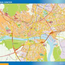 Bratislava Downtown Map
