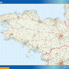 Bretagne Map