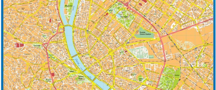 Budapest Downtown Map
