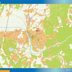 Coimbra Street Map