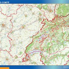 Franche Comte Map