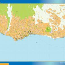 Funchal Street Map