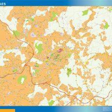 Guimaraes Street Map