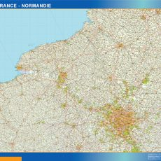 Ile De France Normandie Map