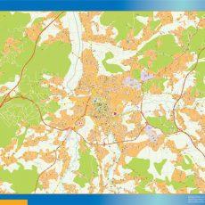 Leiria Street Map