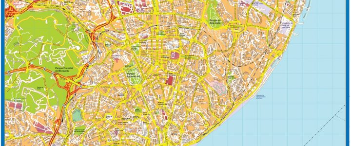 Lisboa Downtown Map