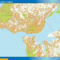 Lisboa Grande Area Street Map