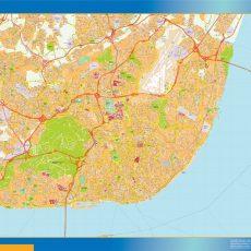 Lisboa Street Map