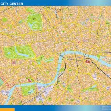 London City Downtown Map