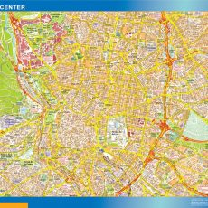 Madrid Downtown Map