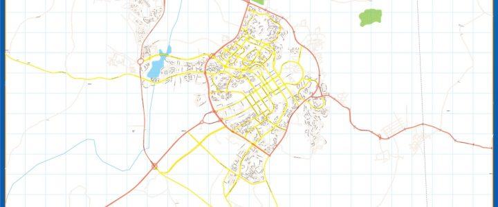 Map of Abuja