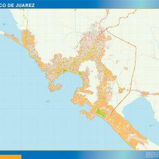 Map of Acapulco De Juarez