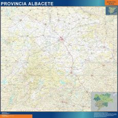 Map of Albacete