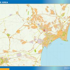 Map of Alicante Area
