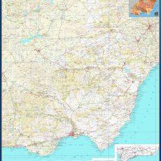Map of Almeria