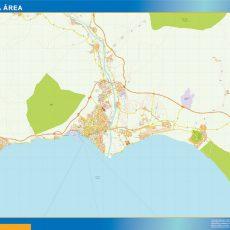 Map of Almeria Area
