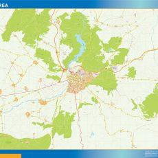 Map of Avila Area
