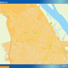 Map of Barranquilla