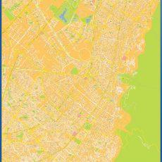 Map of Bogota Centro