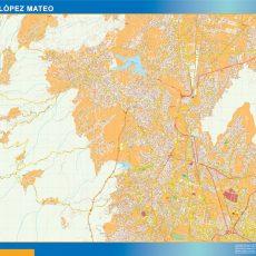 Map of Ciudad Lopez Mateo