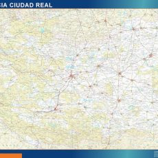 Map of Ciudad Real