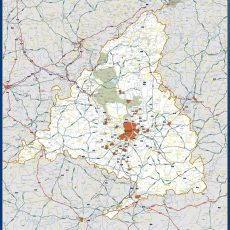 Map of Community Madrid
