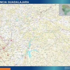 Map of Guadalajara