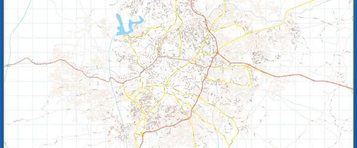 Map of Ibadan