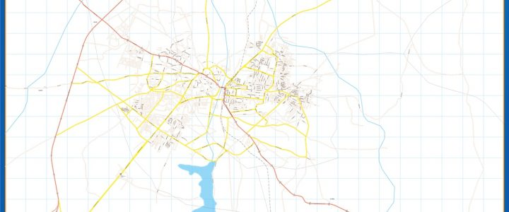 Map of Ilorin