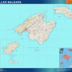 Map of Islas Baleares