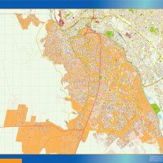 Map of Juarez