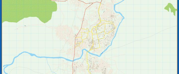 Map of Kaduna