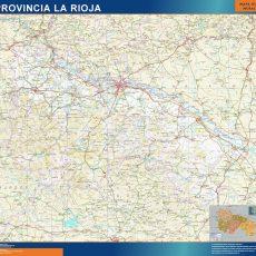 Map of La Rioja