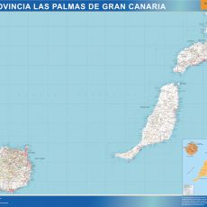 Map of Las Palmas Gran Canaria