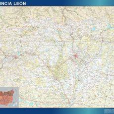 Map of Leon