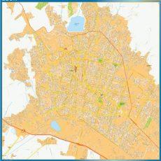 Map of Leon Centro