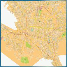 Map of Monterrey Centro