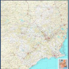 Map of Murcia