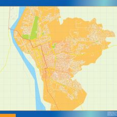 Map of Neiva