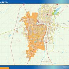 Map of Nuevo Laredo