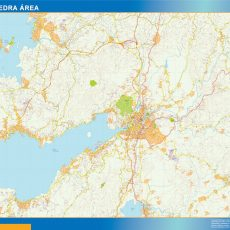 Map of Pontevedra Area