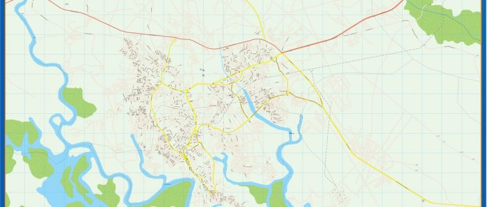 Map of Port Harcourt
