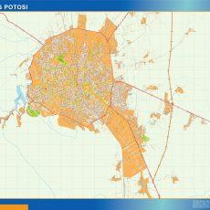 Map of San Luis Potosi