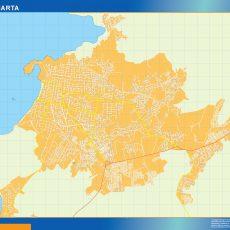Map of Santa Marta