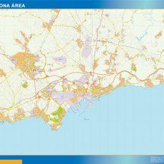 Map of Tarragona Area