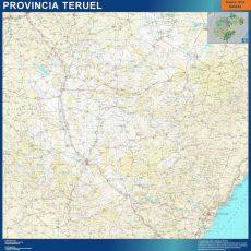 Map of Teruel