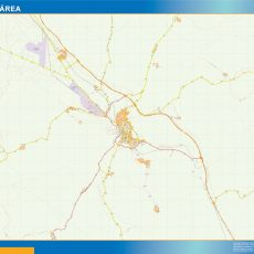 Map of Teruel Area