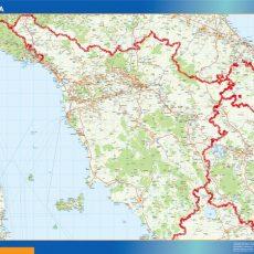 Map of Toscana