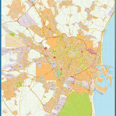 Map of Valencia Area