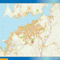 Map of Vigo Area